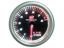 RELOJ TACOMETRO UNIVERSAL 8000 RPM FONDO NEGRO DE 52mm.ENVIO GRATIS EN 24H