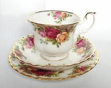 Royal Albert Old Country Roses Cup and Saucer and Tea Plate - OCR Trio