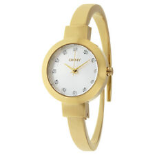 DKNY Stanhope Silver Dial Ladies Gold Tone Watch NY2410