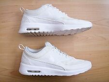 NICE NIKE AIR MAX THEA ALL WHITE WOMEN'S TRAINING RUNNING SHOES SIZE 8 US 39 EUR