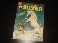 HI-YO, SILVER #36 Lone Ranger  Western Cowboy  Silver Age Dell Comics 1960 FN
