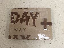 Handmade Piglatin Paper Craft Wallet With Strap, Made In NY