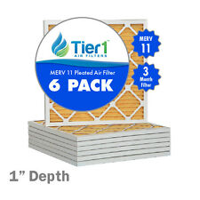 20x25x1 Ultra Allergen Merv 11 Replacement AC Furnace Air Filter (6 Pack)