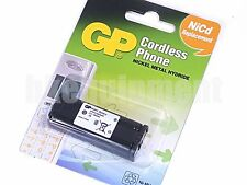 GP OEM Panasonic HHR-P105 Cordless Phone Rechargeable NiMH 2.4v 850mAh Battery