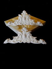 USED  SILICONE RUBBER MOULD ORNATE CENTER PIECE MOULDINGS