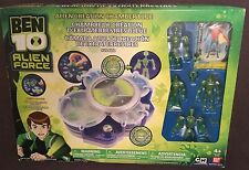 BEN 10 ALIEN CREATION CHAMBER playset includes 4 interchanging Figures Bandai