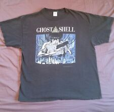 Vintage GHOST IN THE SHELL 2XL T Shirt 1995 Anime Manga Akira movie 2 sided