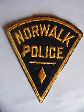 INSIGNE ANCIEN POLICE USA : NORWALK POLICE