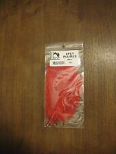 Fly Tying Hareline Ostrich Spey Plumes - Red