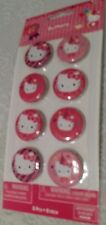Hello Kitty Birthday Party Accessories Balloons or Button Pins Decorative NIP