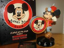 "Disney MICKEY MOUSE CLUB LE 1955 Figurine ""LEADER OF THE CLUB"" Band Leader *NEW"
