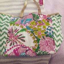 Lilly-Pulitzer-for-Target-nosie-posey-canvas-tote-NWT Lilly