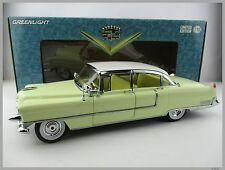 Cadillac Fleetwood * 1955 * en amarillo-blanco * GreenLight * escala 1:18 * embalaje original * nuevo
