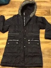 Next Girls Black School Coat Aged 11-12 Years (152cm)