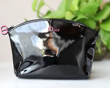Genuine DIOR Cosmetic Makeup Bag Pouch Clutch with Dior Beauty Charms no Box