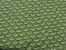 """Timeless Treasures Ruby C9513 Green Lace 100% cotton 43"""" Fabric by the yard"""