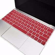 "WINE RED Silicone Keyboard Cover Skin for New Macbook 12"" w./ Retina Model A1534"
