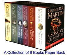 A Song of Ice and Fire  Books Set by George R R Martin - New Collection of 6 PBs
