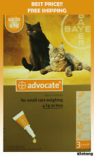 Advocate For Cats Up To 4kg Small Cats 3 Pack Flea and Lice Treatment