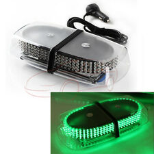 240 LED Mini Bar Strobe lamp Vehicle Car Emergency Hazard Warning Light Green
