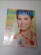 Simply Beads Magazine August 2006 62 Sassy Designs Memory Wire 101 Summer