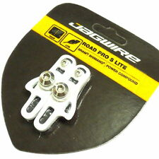 JAGWIRE Road Pro S Lite Brake Shoes Pads for SRAM/SHIMANO, White, Z51