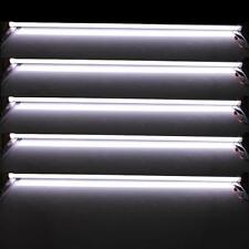 """5X 12V 40"""" SMD5630 72 LED Tube White Light Fluorescent Replacement w Scrub Cover"""