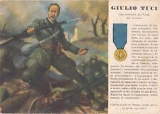A4225) WW2 GRECIA, M. O. GIULIO TUCI DA PISTOIA CAPO MANIPOLO MVSN. VIAGGIATA.