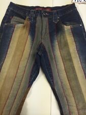 Ymi Lets Ubu Multi Colored Bootcut Jeans Women's Size 3 New!