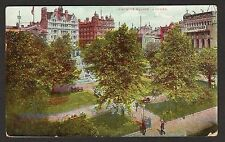 POSTCARD 1905 LEICESTER SQUARE LONDON Posted Torquay to Axminster
