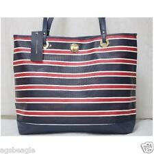 Tommy Hilfiger 6927870 467 Striped Tote Navy White Red by Agsbeagle #BagsFever