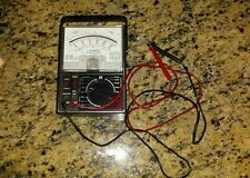 Vintage MICRONTA Range Doubler MULTITESTER 22-204A with leads Nice Shape!