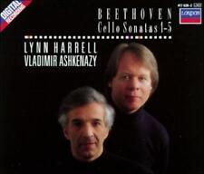 Beethoven: Cello Sonatas Nos. 1-5 (CD, Oct-1990, 2 Discs, London)