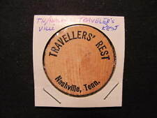 Nashville, Tennessee Wooden Nickel token - Travellers' Rest Wooden Nickel Coin