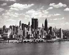 Wall mural wallpaper 315x232cm New York skyline black and white home photo decor