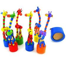 Kids Baby Swing Dancing Standing Colorful Rocking Giraffe Educational Toys Gifts