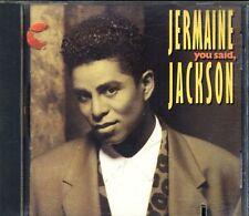 Jermaine Jackson - You Said 1St Press Cut Out Cd Sigillato