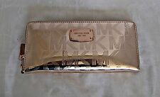 Michael Kors - Jet Set Item Travel Continental Signature Wallet  - Rose Gold