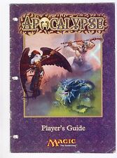 APOCALYPSE  FAT PACK PLAYER'S GUIDE MTG MAGIC THE GATHERER  NICE CONDITION RARE
