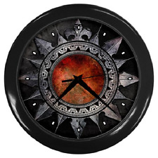 GOTHIC GOTH FASHION STYLE RETRO ROUND WALL CLOCK**GREAT GIFT ITEM**