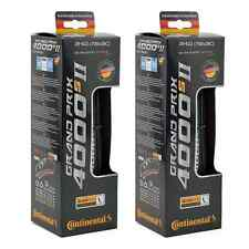Continental GP 4000s II Folding Tires PAIR 700x28c Black Grand Prix GP4000 S II