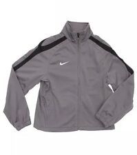 NEW NIKE Junior Boys Graphite Dry-Fit Woven Tracksuit Jacket Top 10-12 Years