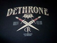 Dethrone Shirt ( Used Size XL ) Very Good Condition!!!