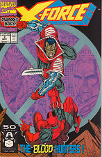 X-Force #2 - 2nd App Deadpool! Hot Movie coming! - 1991 (Grade 9.4)WH