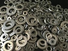 Assorted M3, M4, M5, M6, M8, M10 & M12 Metric A2 Stainless Steel Flat Washers