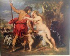 Venus and Adonis By Peter Rubens