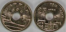 NUMISBILBAO 25 PESETAS 1993 PAIS VASCO SIN CIRCULAR JUAN CARLOS I ESPAÑA KM#920