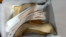 "Jimmy Choo ""Articolo"" Heel Nude Platform Size 40 Original Box and Dust Bag"