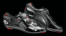 SCARPE SIDI WIRE CARBON NERO NERO LUCIDO SHOES SIDI WIRE CARBON BLACK N°40