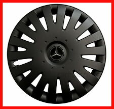 "4x16"" Wheel trims for Mercedes Vito Taxi  - black matte finish 16"""